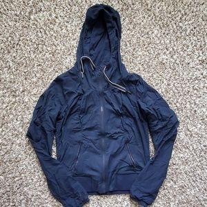 Dark Blue Hooded Lululemon Jacket